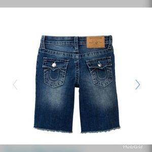 True Religion Bottoms - True Religion cut off Shorts (little boys)